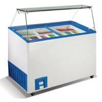 Морозильный ларь для мягкого мороженого Crystal Venus Vetrine- 46 (Греция)