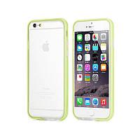 "Бампер ROCK Duplex Slim Guard для Apple iPhone 6/6s plus (5.5"")            Зеленый / Green"