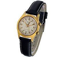 Полет Сигнал 1МЧЗ 18 камней сделано в СССР позолоченные часы с будильником -Shop wrist watch USSR