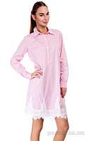 Платье-рубашка женская для сна и отдыха German Volf XS