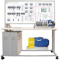 """Стенд лабораторный """"Энергосберегающие технологии. Электроснабжение с МПСО"""" НТЦ-10.49"""