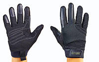 Перчатки тактические с закрытыми пальцами BLACKHAWK (р-р M-XL, черный)