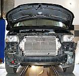 Декоративно-защитная сетка радиатора Volkswagen Transporter T5 фальшрадиаторная решетка, бампер, фото 2
