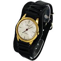 Позолоченные противоударные часы Мир 18 камней - Shop wrist watch USSR