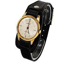 Позолоченные противоударные часы Мир 18 камней -Shop wrist watch USSR