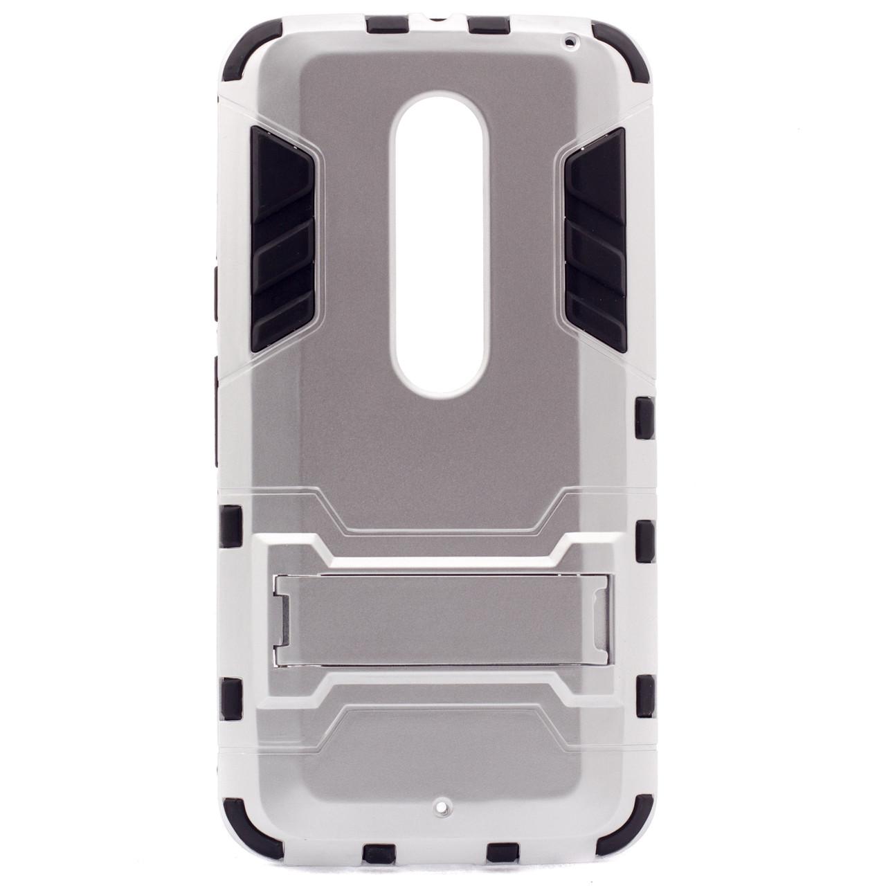 Ударопрочный чехол-подставка Transformer Motorola Moto X Style (XT1572