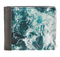 Кошелек ZIZ Океан 43003 графитово-бирюзовый