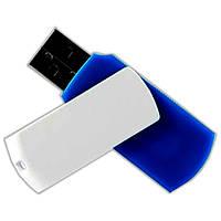 Флешка GOODRAM UCL2 8 GB Синяя для компьютера и ноутбука с быстрой записью мультимедиа для музыки и фильмов