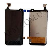 Дисплей (LCD) HTC 310 Desire Dual SIM с сенсором черный