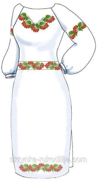 81a7e7dc18a645 Заготовка плаття для вишивки з поясом на натуральній тканині ...