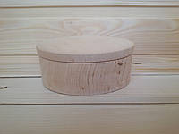 Заготовка круглой шкатулки (рахва) 10 см для творчества