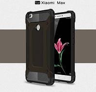 Бронированный противоударный TPU+PC чехол Immortal для Xiaomi Mi Max Черный