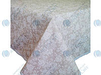 Скатерть круглая ПРОВАНС 200 white Rose-1 (10566)