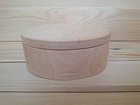 Заготовка шкатулки круглой формы (рахва) 11 см для декорирования