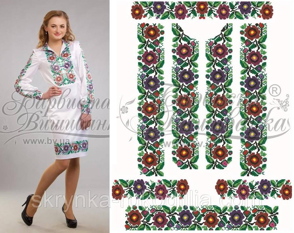 Заготовка плаття для вишивки бісером нитками на натуральній тканині ... 4f2e37e5d7d1b