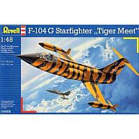 : Пластиковая модель для склеивания Lockhed F-104G Starfighter Tiger Meet (код 200-107525)