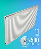 Высота 500 Радиатор стальной  E.C.A. 500/11/400 (K)