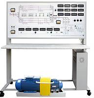 Стенд лабораторный Моделирование переходных процессов в электроэнергетических системах с МПСО НТЦ-10.72