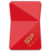 Флеш-драйв silicon power jewel j08 64gb usb 3.0 Красный