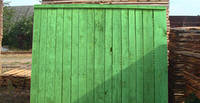Забор строительный деревянный