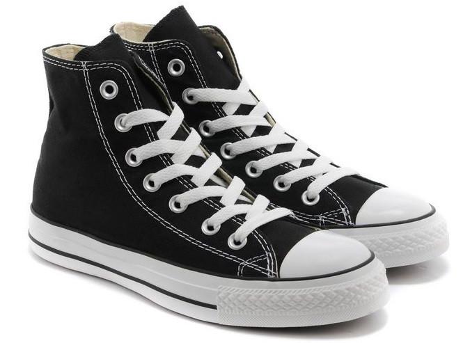 Кеды мужские Converse All Star High Черно-белые - Интернет-магазин «Nano» 9a30361c95e