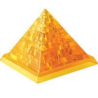3Д-пазл Пирамида желтая