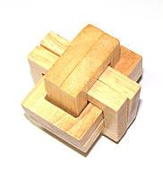 Головоломка деревянная Двойной ОСС