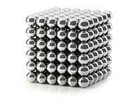 Головоломка Neocube Неокуб 5 мм (никель) - 216 магнитных шариков