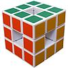 Кубик рубика без центра Void Cube белый Diansheng