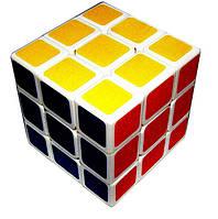 Кубик Рубика 3х3 белый Guo Ja, 57 мм, фото 1