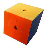 Кубик Рубика 2х2 (цветной) QiYi, 50 мм, фото 1