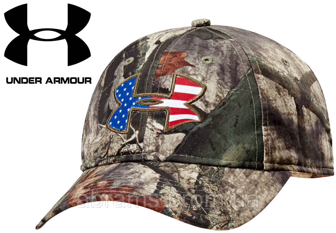 d220091948f ... low cost under armour ua big logo americana camo cap mossy oak  treestand 0f0f6 eae7c