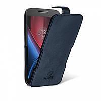 Чехол флип Stenk Prime для Motorola Moto G4 Play Чёрный