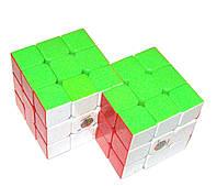 Кубик Рубика Гибрид 3х3 №1 цветной