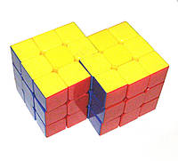 Кубик Рубика Гибрид 3х3 №2 цветной