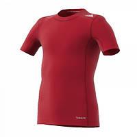 Cпортивная детская термо футболка Adidas TechFit Base Junior AK2825