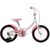 """Двухколесный велосипед Pride Miaow 16"""", цвет бело-розовый"""