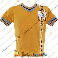 Стильные Турецкие футболки для пацанов от 2 до 8 лет (4287-2)