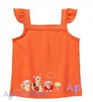 Gymboree Майка оранжевая, Коала и кенгуру