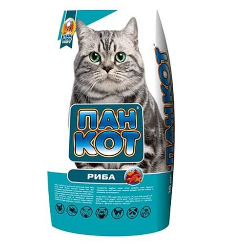 ХТЗ Пан Кот Рыба, корм для кошек, 10кг, фото 2