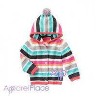 Gymboree Кофта в полоску, Striped Hoody
