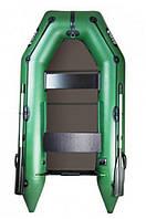 Надувная лодка Ладья 270, настил-книжка и передвижные сиденья ЛТ-270МВЕ