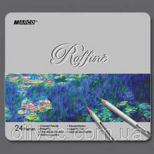 "Карандаши цветные ""Marco Raffine"" 24 цвета."