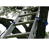 Лестницы и стремянки KRAUSE Профессиональная односекционная лестница с перекладинами KRAUSE Stabilo 6 ступеней