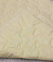 Одеяло летнее двуспальное хлопок холофайбер 300г/м2 180*210 (7205) TM KRISPOL Украина