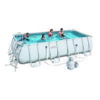 Каркасный бассейн Bestway 56466 с песочным фильтром (549х274х122)