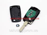 Ключ Bmw выкидной 3 кнопки Лезвие HU58 id73 434MHZ для EWS Вид№1