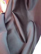 Штора  однотонная шоколадно-коричневая, фото 3