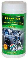 Салфетки влажные Салфетки для авто (панель приборов) 100шт., влажные, в банке Арника 30500 (30500 x 108022)
