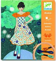 Художественный комплект вышивка Вечерняя мода, Djeco